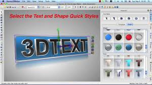 aurora 3d maker for mac create 3d text logo le animation and effects you