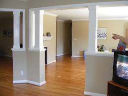 Column Molding Ideas Half Wall Ideas 028 Half Wall Opening Dressed Up With Columns