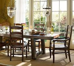 benchwright table wynn chair set rustic gany stain dining table 86 long x 42 wide x 30 high extends to 122 long seats up to 12