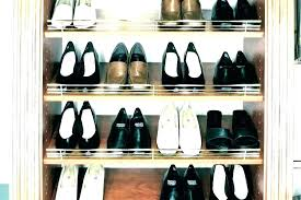 shoe rack ideas for walk in closet shoes storage