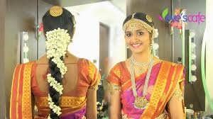 traditional bridal makeup south indian bride