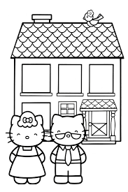 Hello kitty is a member of a large family whose members are all named white. Hello Kitty Baking Coloring Google Search Hello Kitty Coloring Kitty Coloring Hello Kitty
