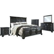 bedroom furniture black gloss. Black Bedroom Suite Heritage 5 Piece Rub Queen Bed Dresser Mirror Gloss . Furniture