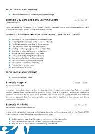 Day Care Resume Daycare Resume 24128 Cd Cd Org