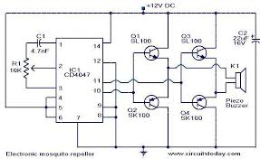 electronic mosquito repeller electronic circuits and diagram electronic mosquito repeller9
