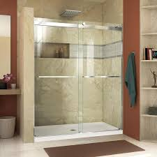 DreamLine Essence 44-in to 48-in Frameless Chrome Sliding Shower Door