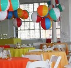 Decorating With Beach Balls Pool Summer Party Ideas Splish splash Beach and Beach ball 2
