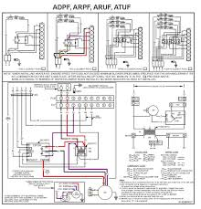 goodman heat pump thermostat wiring diagram and honeywell beauteous home goodman heating wiring diagram goodman wiring