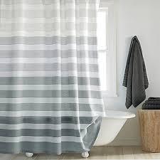 shower curtain rod ideas. Delighful Curtain DKNY Highline Stripe Shower Curtain Throughout Rod Ideas G
