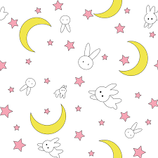 Moon Pattern Adorable Sailor Moon Pattern On Behance