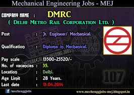 delhi metro rail corporation jr engineer mechanical  delhi metro rail corporation hiring freshers as station controller jr engineer in delhi