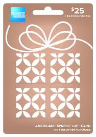 american express 25 gift card