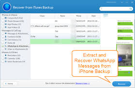 Itunes is the first thing that comes to our mind when we wish to backup whatsapp without icloud. Top 4 Free Tools To Extract Whatsapp Messages From Iphone Backup