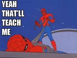 14 funny spiderman memes 8