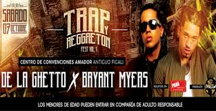 trap reggaeton flyer trap y reggaeton fest vol 1 centro de convenciones amador