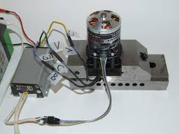 no rotation was observed the motor stalled after moving a few degrees the bination ua vb wc is invalid swap 2 phase wires
