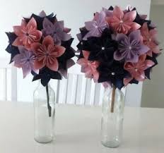 Paper Flower Bouquet For Wedding Details About Wedding Paper Flower Bouquet For Wedding Birthday Or Gift