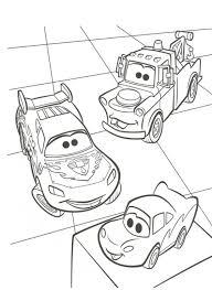 Kids N Fun Kleurplaat Cars 2 Takel En Bliksem