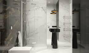 extraordinary black and white bathroom. Black And White Marble Bathroom Interior Design Ideas Extraordinary