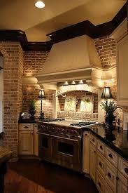 Brick Backsplash Kitchen Kitchen Design Brick Backsplash Looking Tile A Veneer With Faux