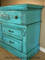 turquoise painted furniture ideas. Lovely Ideas Turquoise Painted Furniture Fancy Design Dresser Glazed Black Before After Facelift . N
