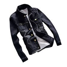ho new 2018 black denim jacket men s fashion men s long sleeve youth casual jacket s 5xl cool mens coats jacket and coat from ppkk 46 43 dhgate com