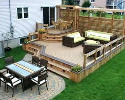 patio deck decorating ideas. Small Patio Deck Ideas Backyard Decks Designs . Decorating