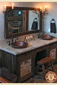 Cabin Bathroom Ideas Endearing Log Cabin Bathroom Ideas With Best Log Cabin  Bathrooms Ideas On Home . Cabin Bathroom Ideas ...