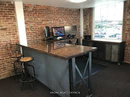 office industrial design. Industrial Office Furniture | Modern Commercial Rustic Design A