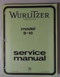 hammond model f 100 extravoice service information wiring diagrams wurlitzer model d 10 organ service manual