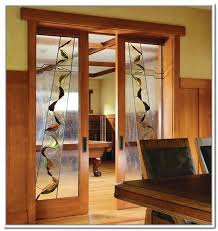 decorative glass doors interior stained glass french doors interior decorative etched glass interior doors