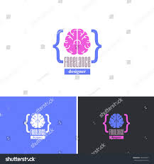 Freelance Sign Designer Freelance Designer Vector Icons Design Logos Stock Vector