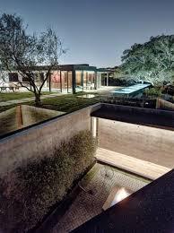 Home Designs: Private Fire Pit - Underground Home