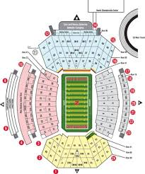 Nebraska Cornhuskers Stadium Seating Chart Nebraska Football Stadium Seating Great Gameday Stadium Info