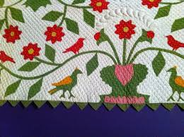 88 best Birds on quilts images on Pinterest | Antique quilts ... & Repro Quilt Lover This picture is here because I am into all things birds  these days Adamdwight.com