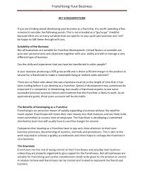 Example Of Franchise 9 Franchise Business Plan Examples Pdf Examples