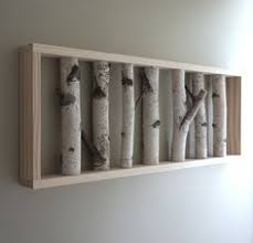 white birch forest natural white birch woods wall art 36 x 12 140 00 via etsy  on birch branch wall art with natural white birch forest wall art made to order 52 00 via