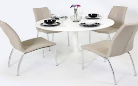coloured high white gloss table chairs and extending grey round side kitchen charming top black set