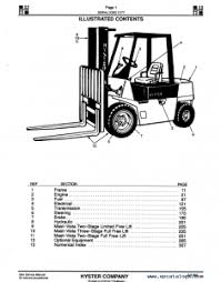 hyster e120xl forklift wiring diagram wire center \u2022 Hyster H155XL Parts Diagram hyster forklift parts manuals download the pdf parts manual instantly rh warehouseiq com hyster engine diagram hyster parts online