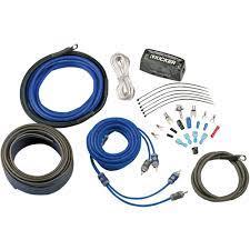Kicker CK4 4AWG 2-Channel Amp Wiring Kit