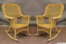mackinac all weather high back wicker rockers set of 2 all about wicker