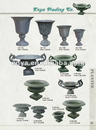Decorative Garden Urns Decorative Garden Urns With EarsAntique Cast Iron Flower Pot Buy 29