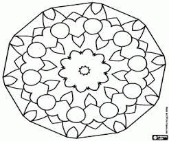 Disegni Di Mandala Da Colorare E Stampare