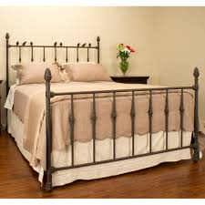 Metal Bed Design Oak Bed Frame Rustic Iron Bed Frame Iron Bed Frames ...