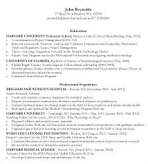 Sample Business School Resume Cover Letter Sample Business School