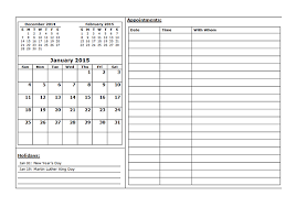 Printable Day Calendar 2015 Blank Daily Calendar Template 2015 Daily Calendar Templates 2015