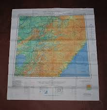 Harbin Nl 52 Spassk Dalniy Nl 53 Aaf Cloth Chart Eastern Asia Series Ams 5301 Evasion Map Scarf