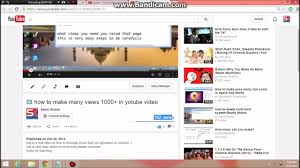 - How Views Youtube To Fake Make