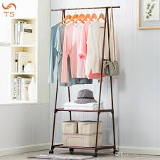 Stainless Coat Rack Simple 32 Coat Rack Nonwovens Stainless Steel Simple Assembly Can Be
