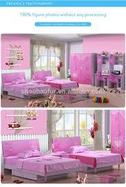 Kids Bedroom Sets For Girls Mini Kids Bed Desk K115 Children Double Bedroom Sets For Girls